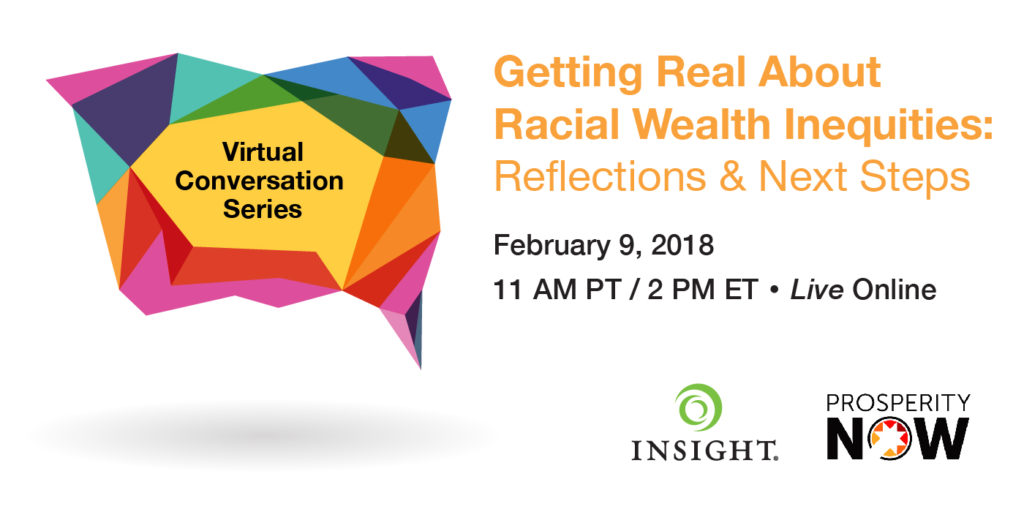 Getting Real About Racial Wealth Inequities: Reflections
